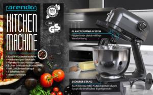 arendo kitchen machine